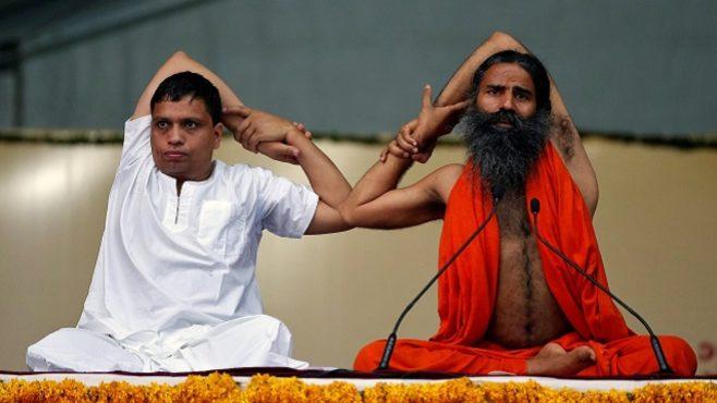bab ramdev yoga inmarathi