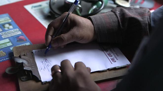 doctor orescription inmarathi