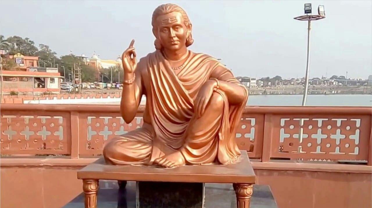 kalidas statue Inmarathi