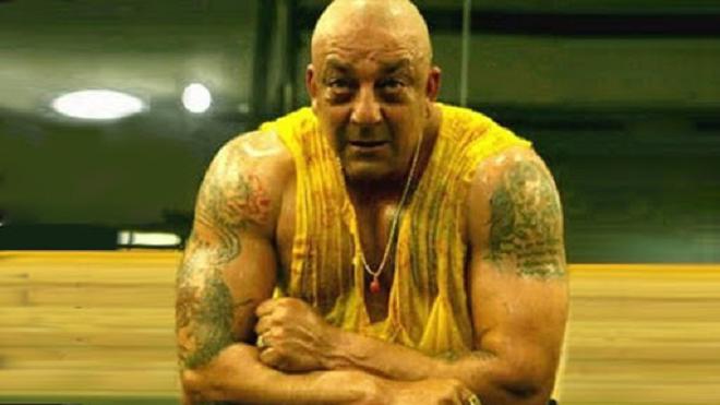 sanjay dutt tattoo inmarathi