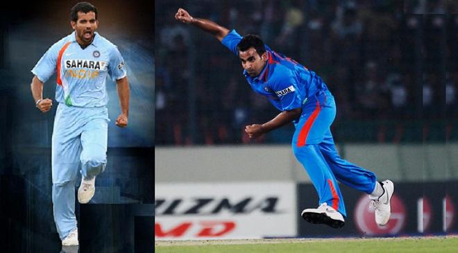 Zaheer bowling action InMarathi