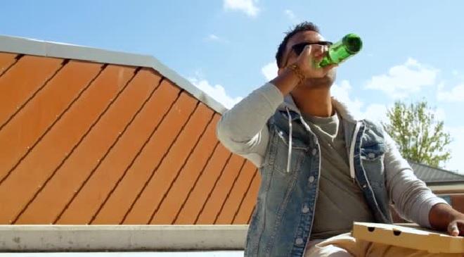 drinking beer inmarathi