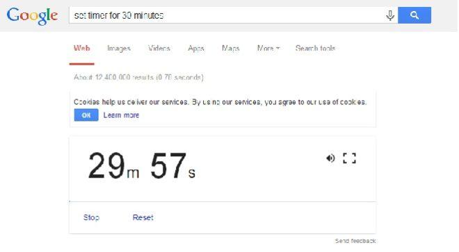 google timer inmarathi