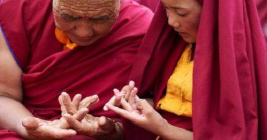 Buddha Hand Mudra 2 InMarathi