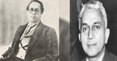 Dr.ambedkar and b.n. rao InMarathi