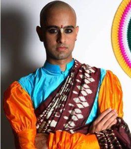 Himanshu saree man.marathipizza3