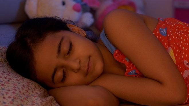 child sleeping Inmarathi