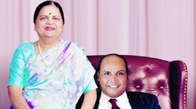 dhirubhai ambani and wife InMarathi