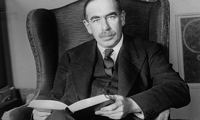 Economist John Maynard Keynes MarathiPizza