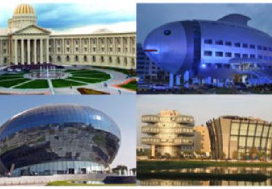 पाहताक्षणी पर्यटन स्थळं वाटावीत अशी आहेत ही भारतातील सुंदर कार्यालये!