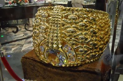 ६४ किलो सोन्याच्या अंगठीचा मालक आहे – दुबईतील भारतीय व्यावसायिक!