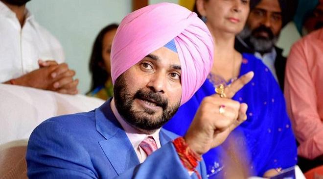 Navjot Singh Sidhu takes charge