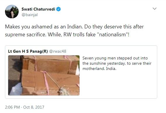 swati chaturvedi tweet marathipizza