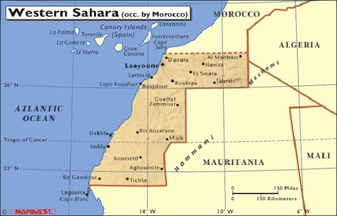 western sahara InMarathi