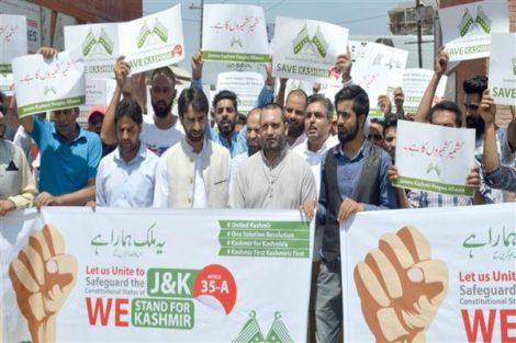 Jammu and Kashmir Article 35 A.Inmarathi3