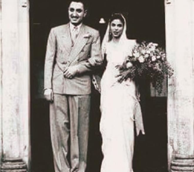 dina wadia marriage inmarathi