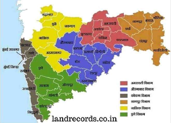 maharashtra-map InMarathi