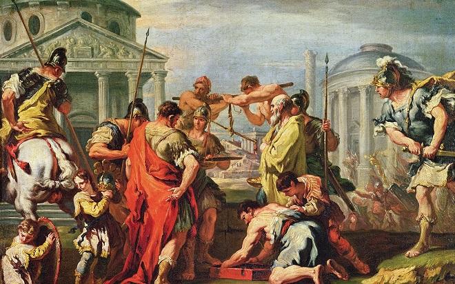 rome empire fight inmarathi