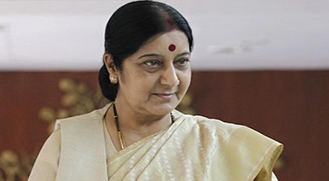 sushma-swaraj InMarathi