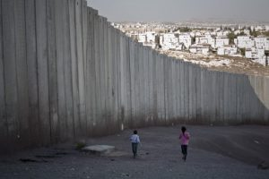 Israeli West bank barrier.Inmarathi3