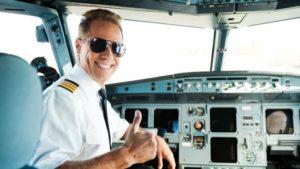Pilots wear aviators.Inmarathi