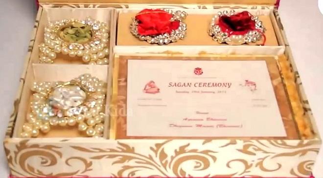 Wedding card InMarathi