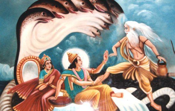vishnu curse inmarathi