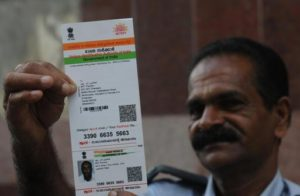 Aadhar card Data unsafe.Inmarathi