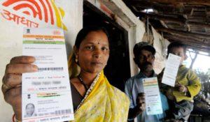 Aadhar card Data unsafe.Inmarathi2