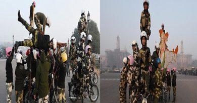 BSF Women Bikers.Inmarathi00