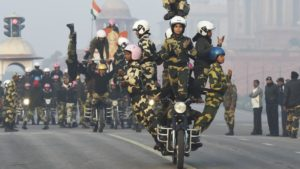 BSF Women Bikers.Inmarathi1