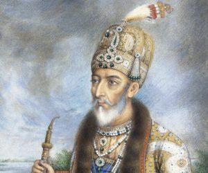 Bahadur shah zafar.Inmarathi