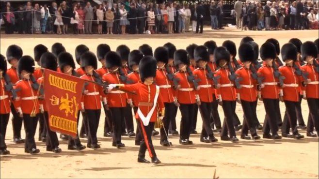 British Queen guards.Inmarathi3