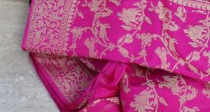 Famous Banarasi Saree.Inmarathi3