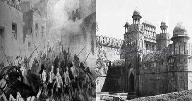 Mughal vs british delhi war 1803.Inmarathi00