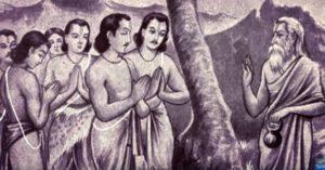 Urvashi cursed arjun.Inmarathi
