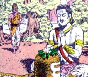 Urvashi cursed arjun.Inmarathi1