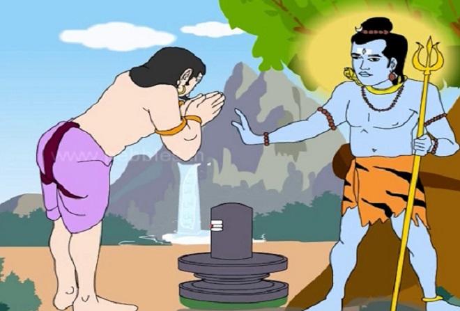 Urvashi cursed arjun.Inmarathi2