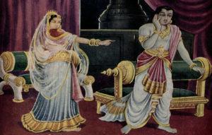 Urvashi cursed arjun.Inmarathi4