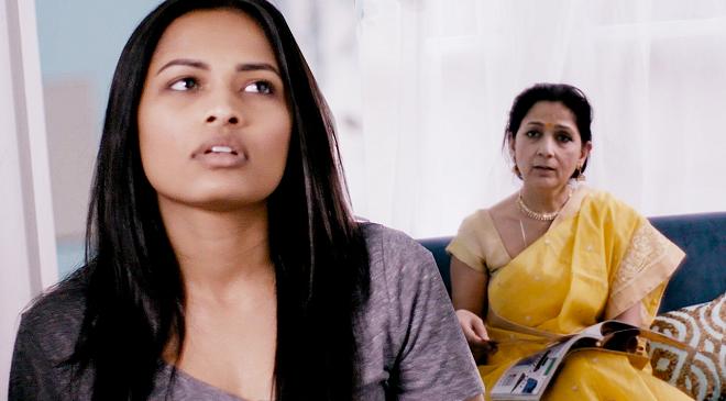 girl with mom inmarathi