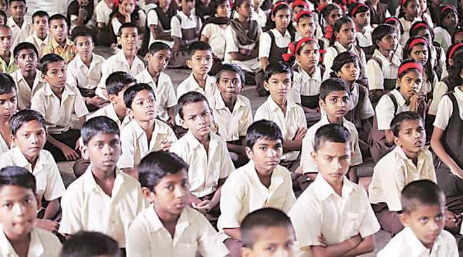 marathi schools inmarathi