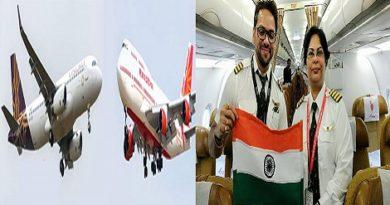 Air india's woman pilot saved passengers.Inmarathi00