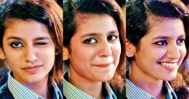 Winking Priya prakash Feature Inmarathi