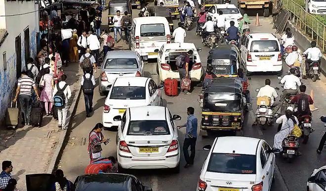 pune traffic inmarathi