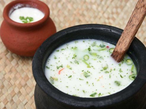 butter milk inmarathi