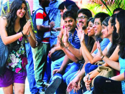 college fun inmarathi