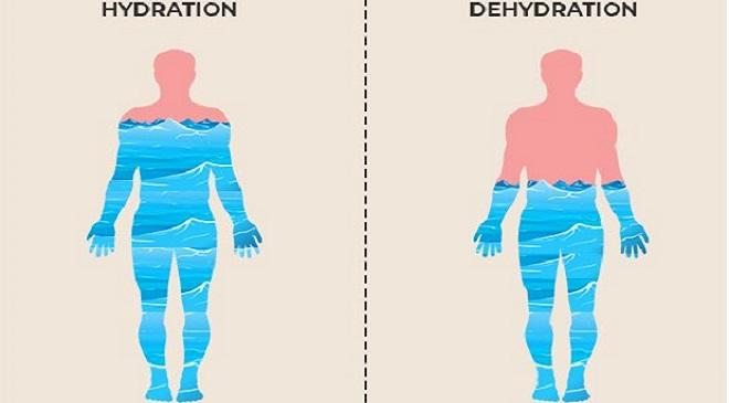 dehydration InMarathi