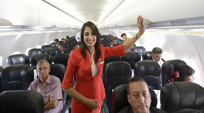 Flight launch of Air Asia fiight
