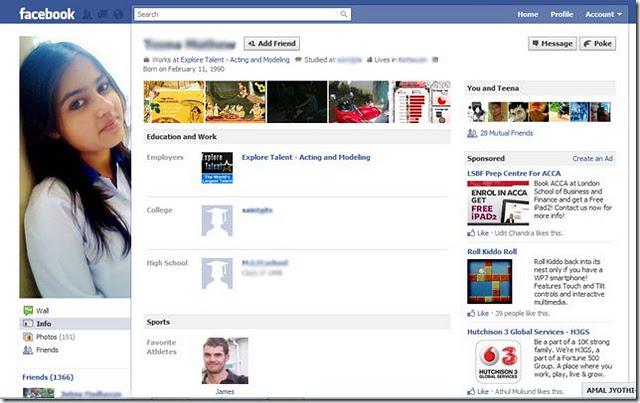 Fake FB Profile