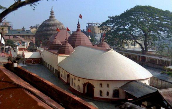 Kamakhya temple worship vagina.Inmarathi